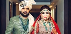 TV Comedy Star Kapil Sharma weds Ginni Chatrath f