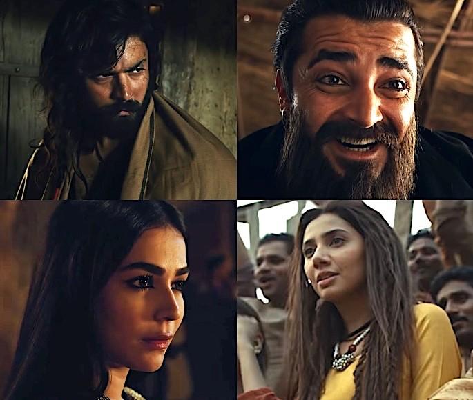 The Legend of Maula Jatt Trailer is Awesome & Sublime - Mahira Khan Hamza Ali Humaima Malik and Fawad Khan