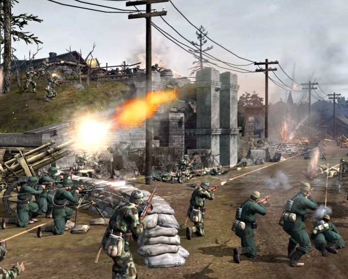 The Most popular Video Games in Pakistan - company of heroes