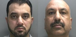 Two Men jailed for Smuggling Heroin worth £2.5 million into UK