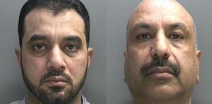 दो पुरुषों ने ब्रिटेन में £ 2.5 मिलियन की तस्करी हेरोइन के लिए जेल में बंद कर दिया