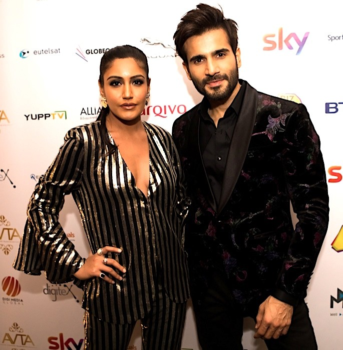Winners of Asian Viewers Television Awards 2018 - Surbhi Chandna Karan Tacker
