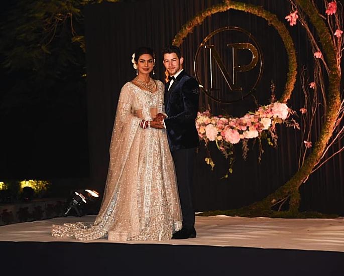 nick and priyanka delhi reception - in article