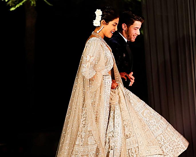 nick and priyanka delhi reception- in article