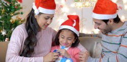 Why do British Asians celebrate Christmas?