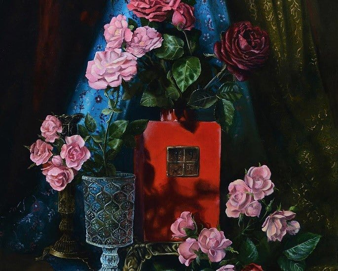 10 Desi Contemporary Painters on Instagram - Irfan Cheema 2