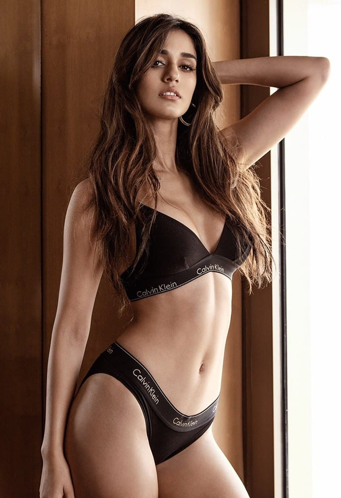 12 Stunning and Sexy Fashion Looks of Disha Patani - klein underwear