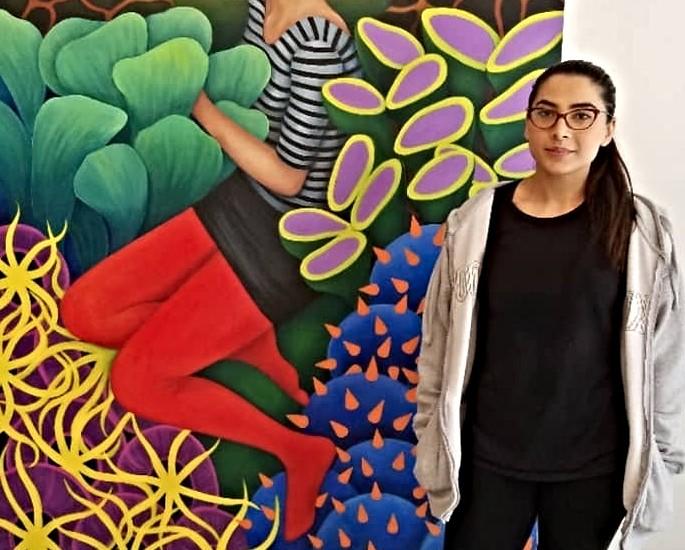 5 Desi Contemporary Painters on Instagram - Minaa Mohsin