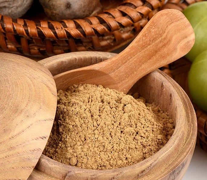7 Desi Remedies for help with Gastritis and Digestion Problems - Churan Triphala powder
