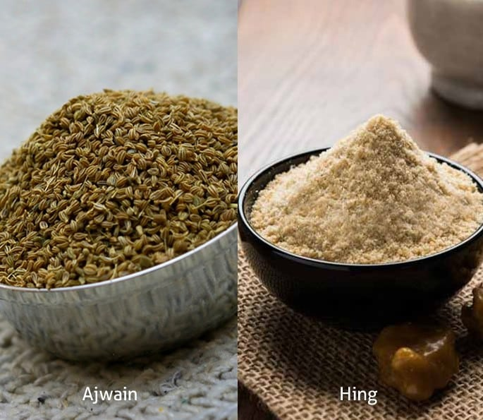 7 Desi Remedies for help with Gastritis and Digestion Problems - ajwain hing