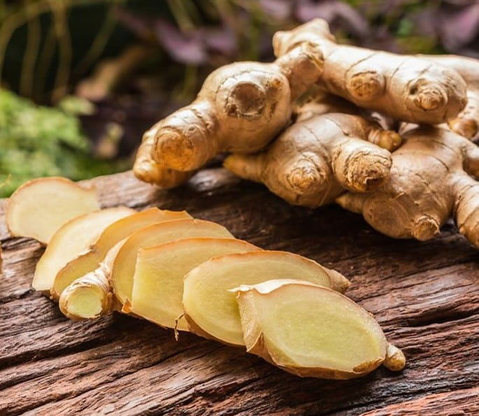 7 Desi Remedies for help Gastritis and Digestion Problems - ginger
