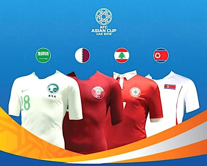 AFC Asian Cup 2019 Football Tournament Kicks Off in UAE - Group E