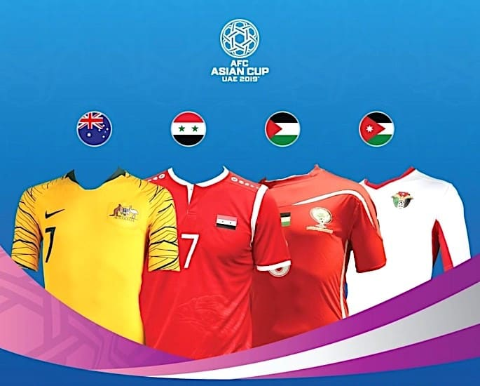 AFC Asian Cup 2019 Football Tournament Kicks Off in UAE - Group B