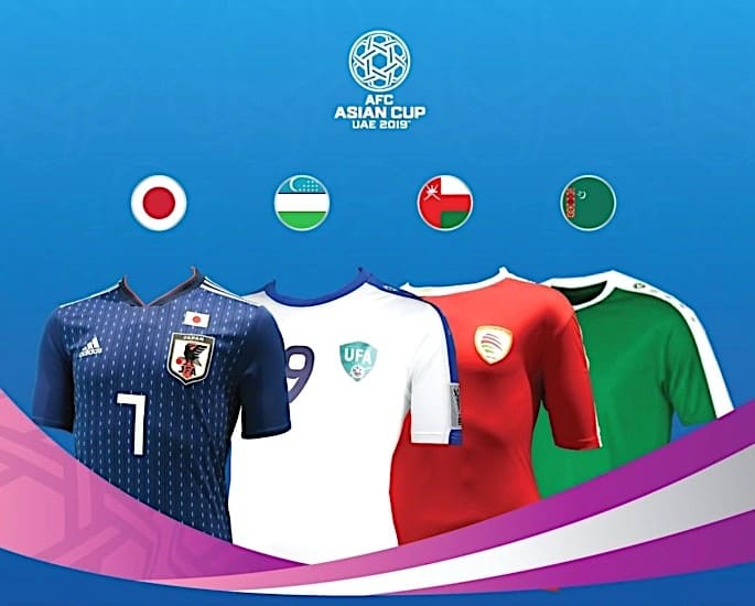 AFC Asian Cup 2019 Football Tournament Kicks Off in UAE - Group F