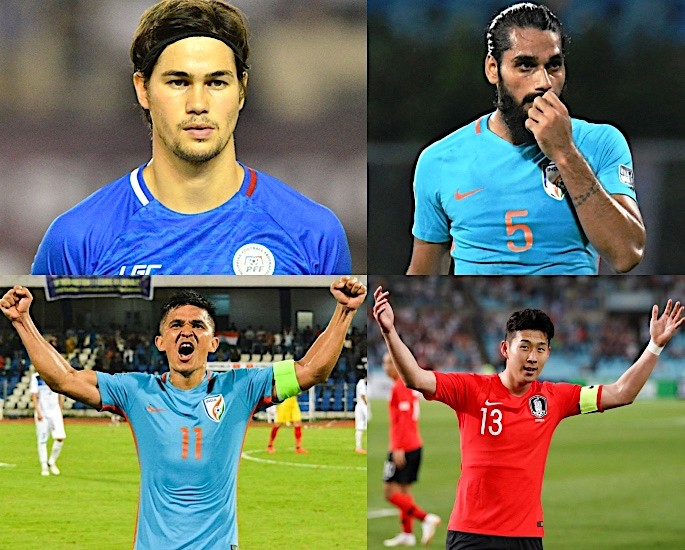 AFC Asian Cup 2019 Football Tournament Kicks Off in UAE -Phil Young Husband Son Heung-min Sunil Chheri Sandesh Jhangin