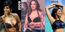 Bollywood Stars who Took up the #10yearchallenge f