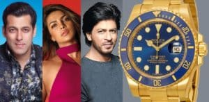Bollywood Stars who own Rolex Watches f