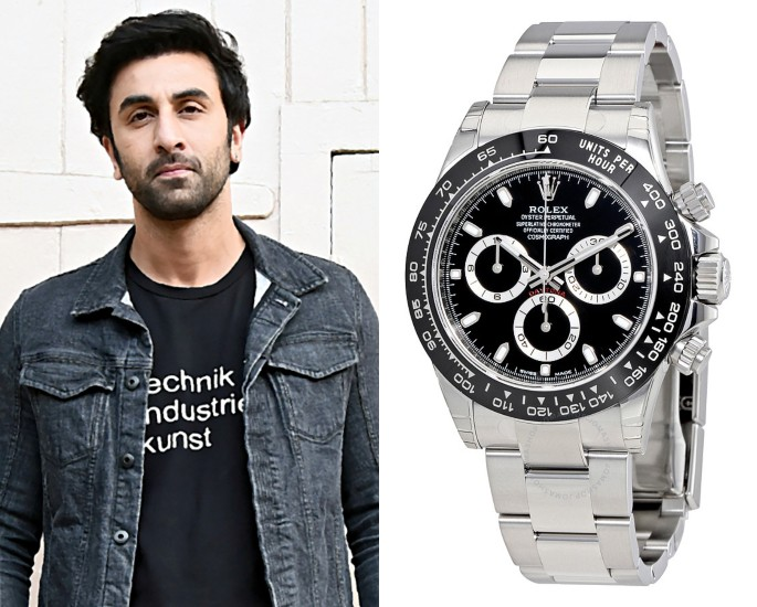 Bollywood Stars who own Rolex Watches - ranbir