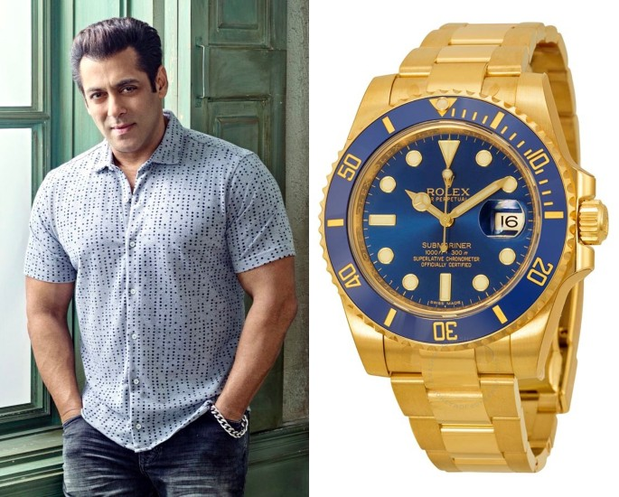 Bollywood Stars who own Rolex Watches - salman