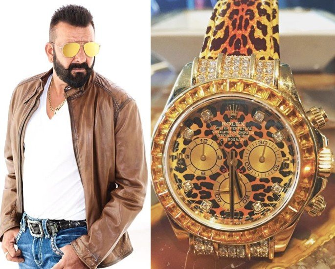 Bollywood Stars who own Rolex Watches - sanjay