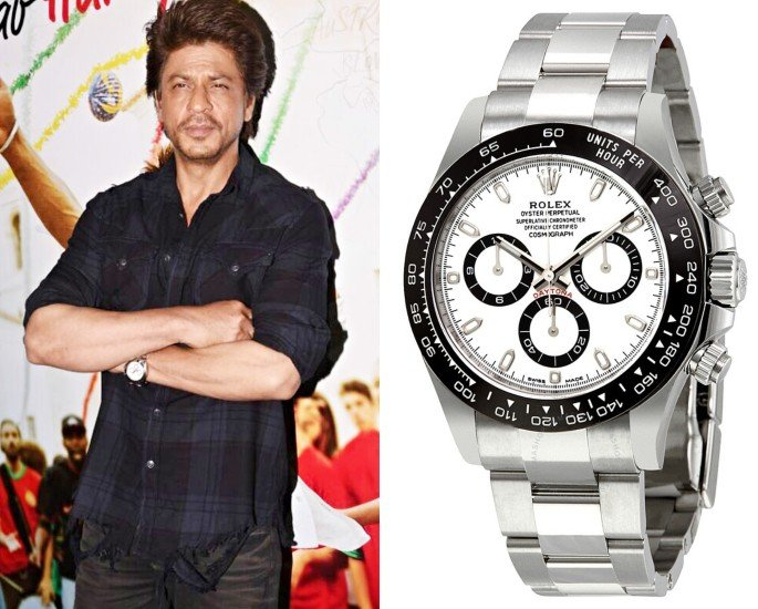 Bollywood Stars who own Rolex Watches - shahrukh