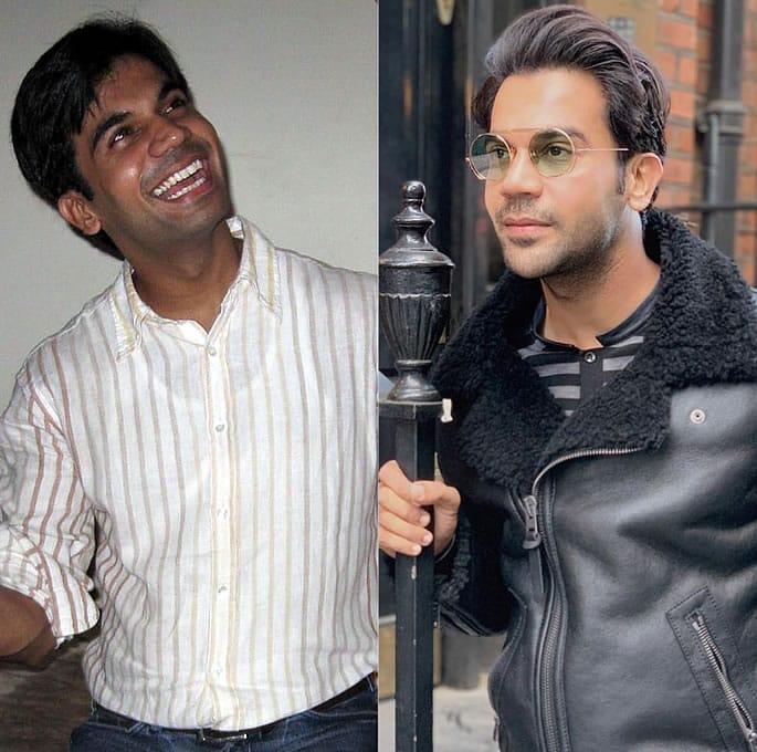 Bollywood Stars who took up the #10yearchallenge - Rajkumar Rao