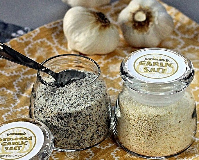 Desi Alternatives to Salt - Garlic Salt