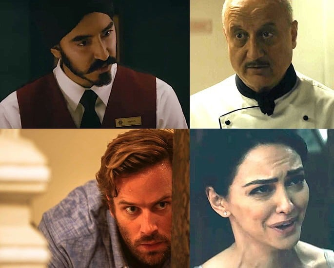 Dev Patel leads in the Gripping Trailer for Hotel Mumbai - dev patel anupam kher, armie hammer, nazanin boniadi
