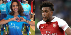 Esha Gupta blasted for Sharing Racism against Arsenal's Iwobi