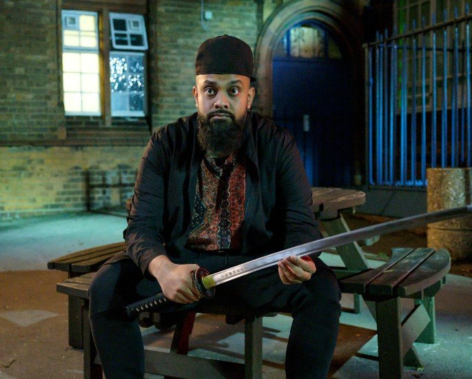 Guz Khan talks Breaking Stereotypes in Man Like Mobeen Series 2 - Mobeen with Katana