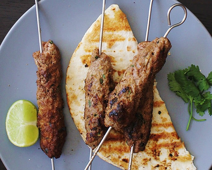 Indian Kebab Recipes to Make at Home - Lamb Seekh Kebabs