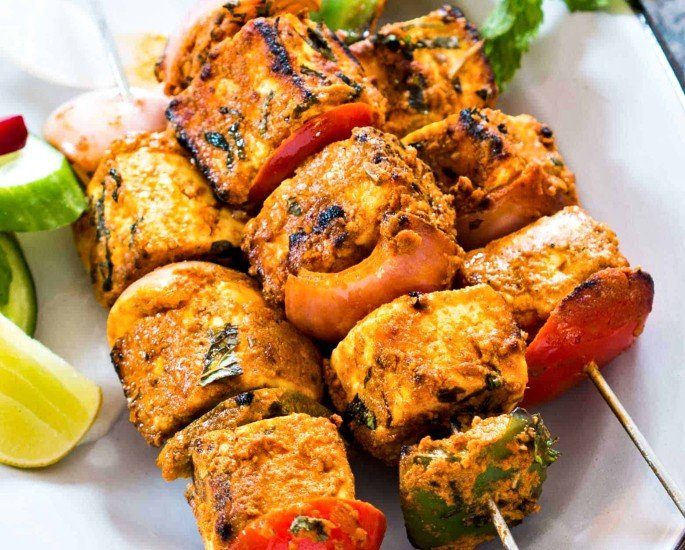Indian Kebab Recipes to Make at Home - paneer