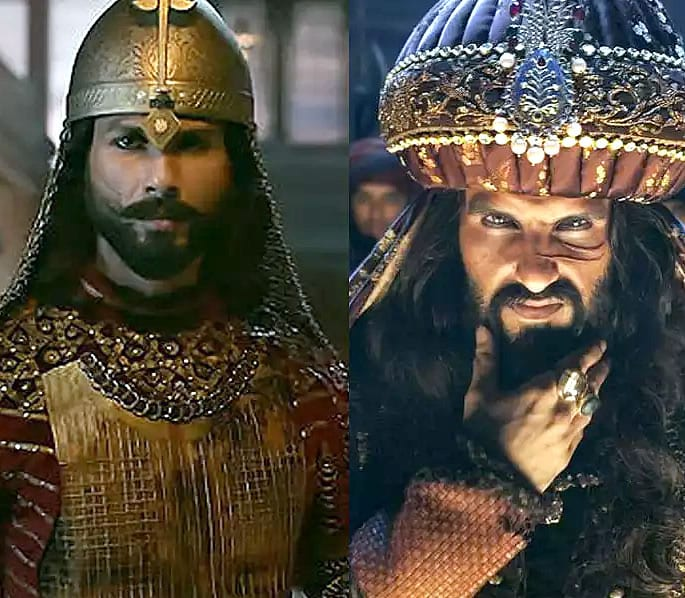 Is Shahid Kapoor feeling Threatened by Ranveer Singh - padmavati