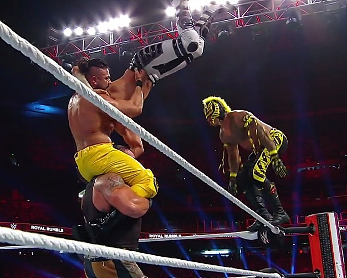 Mustafa Ali Makes an Impressive Royal Rumble Debut