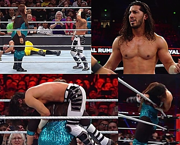 Mustafa Ali makes an impressive Royal Rumble Debut - Nia