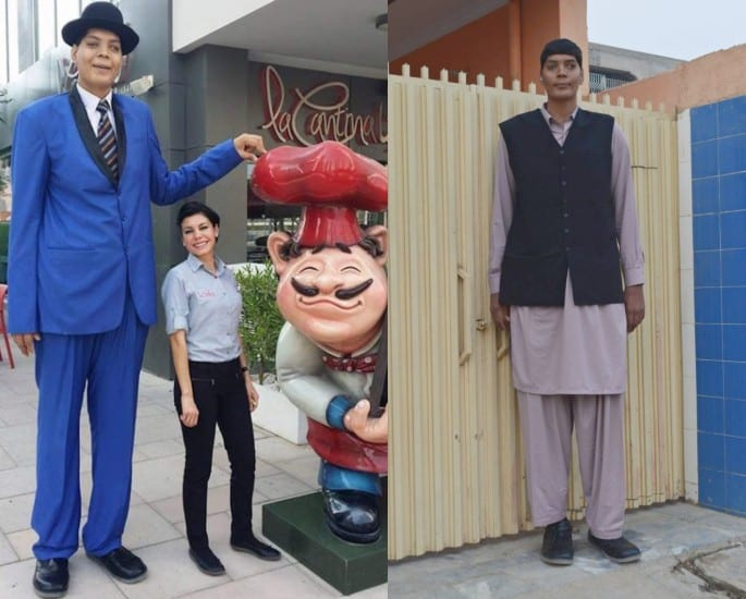 Pakistan's Tallest Man Reveals Struggle to find Love