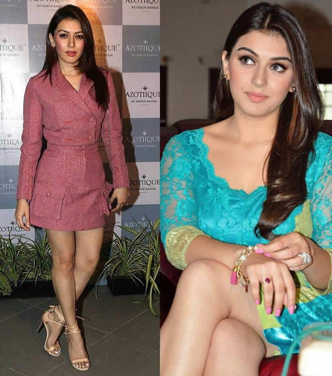 Private Photos of Hansika Motwani Leaked from her Phone - shots