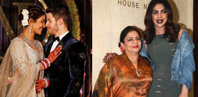 Priyanka Chopra's Mum Upset with her 'Small' Wedding f