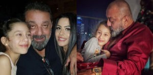 Sanjay Dutt trolled for Favouring Daughter Iqra over Trishala f