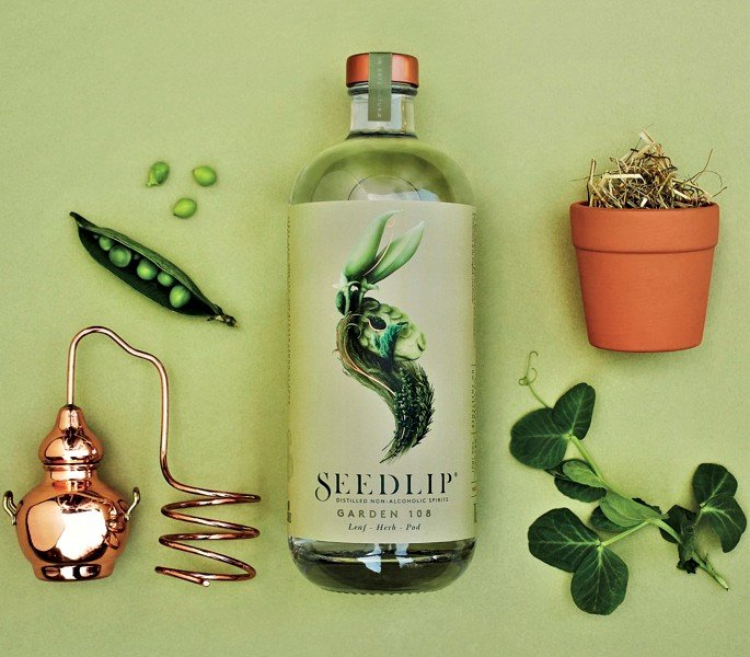 Seedlip Distilled Spirits Refining The Art of Not Drinking - Garden 108