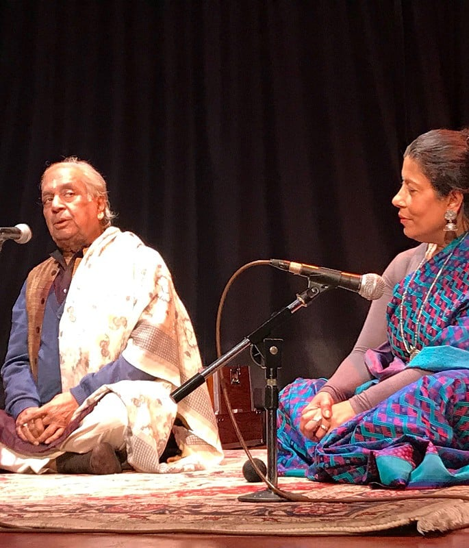 Sujata Banerjee talks Indian Dance, Process & Education - Sujata with Pt Birju Maharaj Hemantika