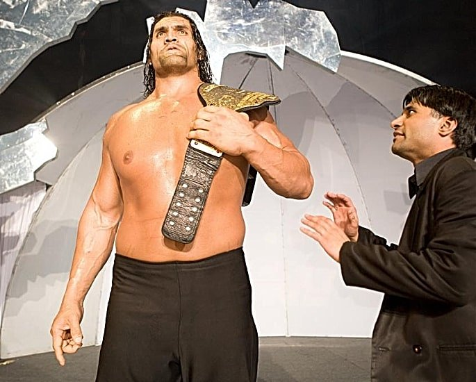 Top Indian Wrestlers That Have Competed In WWE - The Great Khali