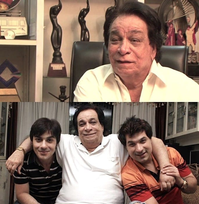 Veteran Actor & Screenwriter Kader Khan passes away at 81 - Awards Sons