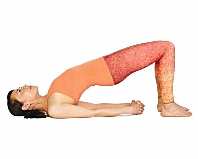 Yoga Positions for a Better Sex Life - Bridge Pose (Setu Bandha Sarvangasana)