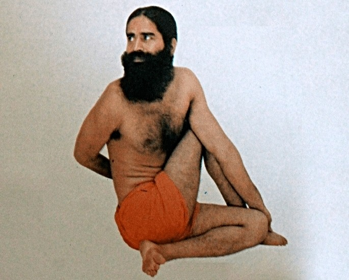 Yoga Positions for a Better Sex Life - Half Lord of the Fishes Pose (Ardha Matsyendrasana)