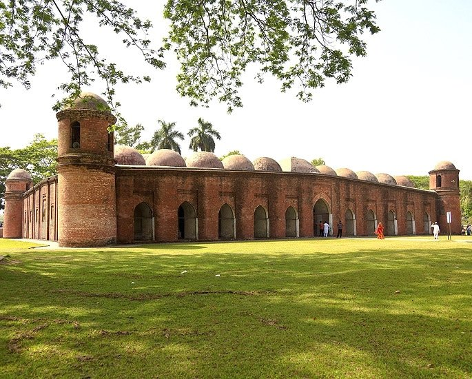 10 Top Historical Heritage Sites of Bangladesh - Sixty Domes, Bagerhat