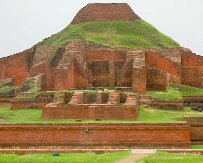 10 Top Historical Heritage Sites of Bangladesh - Somapura Mahavira, Naogaon 12jpg