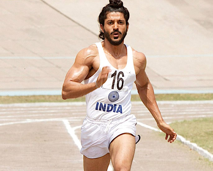 10 Top Sports Biopic movies in Bollywood - Bhaag Milkha Bhaag