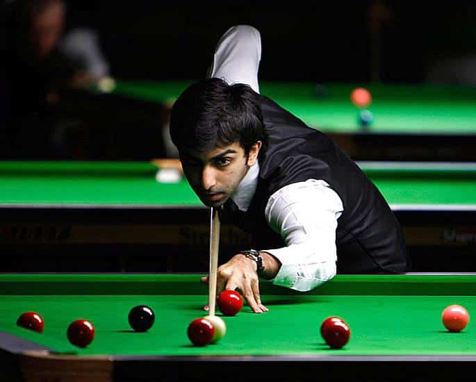 5 Best Indian Snooker Players of the Green Baize - Pankaj Advani