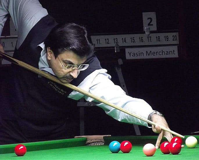 5 Best Indian Snooker Players of the Green Baize - Yasin Merchant